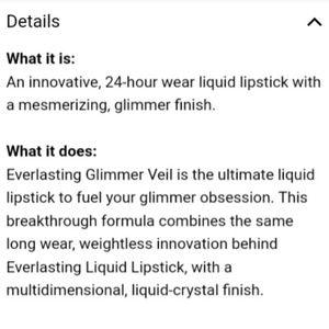 Kat Von D Makeup - Kat Von D Everlasting Glimmer Veil Thunderstruck
